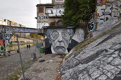 RIP Jean Rochefort (HBA_JIJO) Tags: streetart urban graffiti paris art france artist hbajijo wall mur painting aerosol peinture portrait celebrity murale spray bombing urbain cinema star