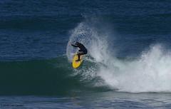 3KA09666a_C (Kernowfile) Tags: surfer surfing cornwall cornish stives porthmeorbeach wave spray breakingwave turn pentax