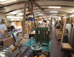 Cathja floating workshop (chericbaker) Tags: cathja barge isleworth dutchbarge charity