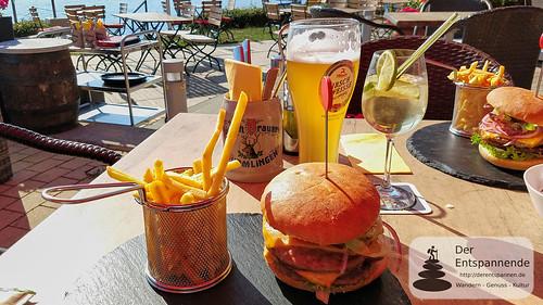 Krone-Burger im Krone-Garten Sipplingen