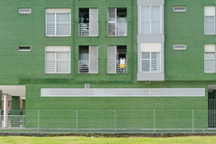 Verde (Oscar F. Hevia) Tags: edificio arquitectura fachada ladrillo verde ventana balcón building architecture facade brick green window balcony lacorredoria oviedo asturias asturies españa naturalparadise paraísonatural principadodeasturias principalityofasturias spain