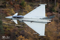 RAF Typhoon FGR.4 ZK365 low level at Thirlmere (NDSD) Tags: low level typhoon eurofighter fgr4 thirlmere cumbria flying jet raf lake district plane sky aircraft aviation
