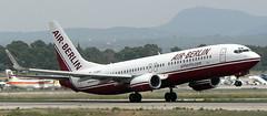 Boring 737-86J D-ABAC (707-348C) Tags: palma palmaairport lepa boeing airliner jetliner boeing737 b738 ber airberlin passenger pmi spain 2006 airberlincom historical dabac