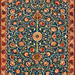 Holland Park Carpet by William Morris (1834-1896. Original from The MET Museum. Digitally enhanced by rawpixel.