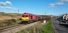 Departing for Swansea (Mark Gowing) Tags: 60007 dbschenker class60 coaltrain sevensisters