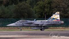Saab JAS-39C Gripen '9234' (JohnC757) Tags: 39234 9234 bafdays bafdays2018 belgianairforcedays2018 czaf czechairforce ebbl kleinebrogelairbase saabjas39cgripen vzdušnésílyačr