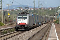 Railpool 186 105 Weil am Rhein (daveymills37886) Tags: railpool 186 105 weil am rhein bls baureihe bombardier traxx