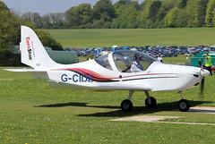 G-CIDZ (GH@BHD) Tags: gcidz evektor evektoraerotechnik ev97 eurostar eurostarsl pophammicrolighttradefair2018 pophamairfield microlight aircraft aviation