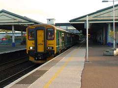 150249 Newton Abbot (1) (Marky7890) Tags: gwr 150249 class150 sprinter 2f51 newtonabbot devon railway train
