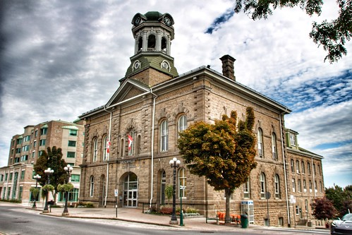 Brockville Ontario - Canada - Brockville City Hall - Heritage