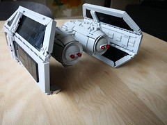 UCS TIE bomber (jakes-mayn) Tags: custom bruckvault jerac empire starwars wars star moc fighter bomber tie lego
