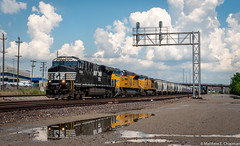 NS 8181, UP 3034, UP 9658 (scarbo4) Tags: up3034 up9658 ns8181 stlouis missouri unitedstates us
