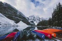 Moraine_Lake_09172018_034_047 (Julliard Kenneth) Tags: improvementdistrictno09 alberta canada ca morainelake calgray mountains lake landscape snow winter