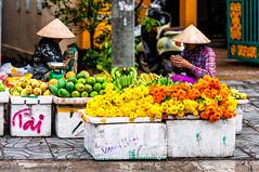 Phu Quoc, Vietnam (Kevin R Thornton) Tags: d90 phuquoc market nikon flowers travel street people food fruit vietnam duongdong thànhphốphúquốc tỉnhkiêngiang vn