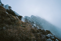 (Federico Raviele) Tags: orobie alpi trekking hiking mountains film 35mm foggy day