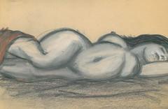 sleeping pencil (DREADNOUGHT2003) Tags: pencil doodle chalk paints drawings art sketch