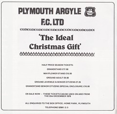 Plymouth Argyle vs Oxford United - 1978 - Page 8 (The Sky Strikers) Tags: plymouth argyle oxford united home park the official match magazine football league division three 20p