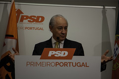 Rui Rio em declarações à imprensa sobre demissão do Ministro da Defesa. 12 outubro 2018