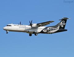 F-WWEE ATR72 Air New Zealand (@Eurospot) Tags: fwwee atr atr72 atr72600 airnewzealand toulouse blagnac