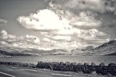 Connemara Lake (podolux) Tags: blackandwhite blancoynegro bw ireland connemara galway countygalway 2007 canon canonpowershota95 powershota95 powershot postprocessing