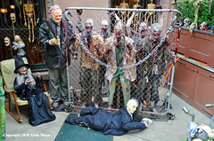 Zombies On The Upper East Side (Trish Mayo) Tags: zombies halloween halloweendecorations uppereastside scary creepy witch