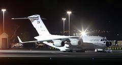 KAF343 (PrestwickAirportPhotography) Tags: egpk prestwick airport kuwait air force boeing c17 globemaster kaf343