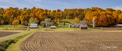 Famous Farm (david.horst.7) Tags: farm farmscape farmland fields bluff trees autumn fall leaves barn rural landscape scenery
