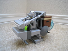 MT-77 Space Walker (jgiese626) Tags: lego moc vehicle walker transport ground support small pilot spaceman astronaut armored lights rollcage ladder scifi furturistic space galactic intergalactic galaxy
