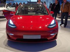 Tesla Model 3 Dual Motor 3/4 (Zygonyx) Tags: pentax k01 hd18650mm re dxo photolab paris mondialdelauto2018
