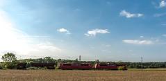013_2018_09_20_Timmerlah_6151_094_&_104_Rpool_mit_Falns ➡️ Peine (ruhrpott.sprinter) Tags: ruhrpott sprinter deutschland germany allmangne nrw ruhrgebiet gelsenkirchen lokomotive locomotives eisenbahn railroad rail zug train reisezug passenger güter cargo freight fret sonnenberg timmerlah db cdc dispo egp evb itl meg rbh radve rpool tls enno vps wfb 0445 0648 1212 1277 1440 5370 5401 6111 6120 6140 6143 6145 6146 6151 6152 6185 6186 6187 6189 6193 7383 es64u2 bahnbau auto logo natur outddor graffiti lkw