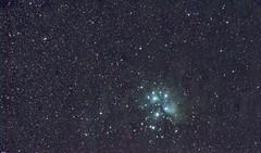 M45 (northern_nights) Tags: m45 7sisters stars astrophoto nightsky astronomy pixinsight nikond7100 nikkor180edf28
