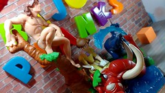 Dear Diary - Bijou Planks 287/365 (MayorPaprika) Tags: lgv20 lgvs995 mini figs figure paprihaven pvc miniature smallscale figurine diorama toy story scene custom bricks plastic vinyl theater bijouplanks disney tarzan jane tantor terk applause
