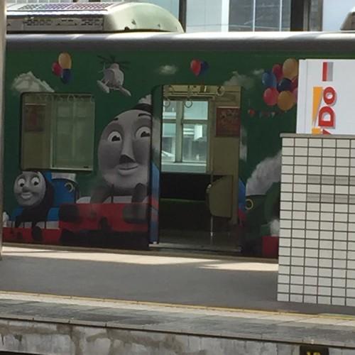 京阪電車枚方市交野線ホーム