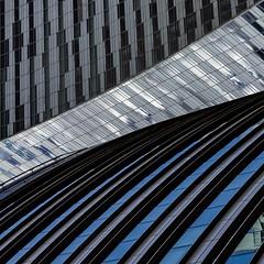 valley... (slavekR) Tags: line lines geometry windows building architecture office explore skyscraper sky geometric valley