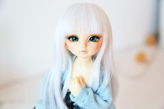 Fureku ♥ (SunShineRu) Tags: ltf littlefee fairyland bjd ball jointed doll dolls cute kawaii yosd lishe white hair