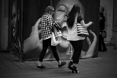 Napoli - street (alice 240) Tags: napoli street urban people reportage city blackwhite nikon bw travel tourism monochrome naples europe italy italia flickr poetry magic dream campania