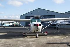 Cessna 172M, G-BBKZ (Wings18) Tags: aviation general light aircraft avgeek haverfordwestairport cessna172haverfordwest gbbkz c172m cessna pembrokeshire flying plane aeroplane prop blur propeller