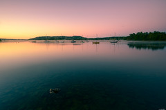 Silent morning (Rico the noob) Tags: 2018 rock d850 lakedistrict sunrise ships 20mm water outdoor lake stones rocks travel trees mist ship horizon tree uk published dof boats sky boat landscape 20mmf18 nature reflection
