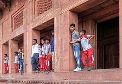 The abandoned city, XVI c. Fatehpur Sikri, India (varfolomeev) Tags: 2018 музей индия город museum fujifilmxt10 india city
