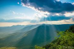Mountain View (treydavisonline) Tags: nikon d750 2470mm mountain mountains sky clouds sun trees forest range