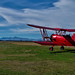 Ready for scenic flight. New Zealand, Mount Cook