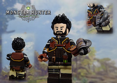 Basic_Hunter (-Toy Designer & iacopo / Minifigures / Custom-) Tags: monster hunter world mhw minifgi custom lego customminifig ps4 dragon rathalos legiana sculpt scultura greenstuff toy design toys game gaming 2018 imc italy iacopo profeti minifig pittura painting armor set moc afol