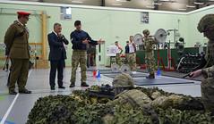 جلالة الملك عبدالله الثاني يحضر برنامجا عسكريا في كتيبة Light Dragoons البريطانية، التي ترتبط بعلاقات تعاون مع القوات المسلحة الأردنية – الجيش العربي (Royal Hashemite Court) Tags: kingabdullahii light dragoons unitedkingdom