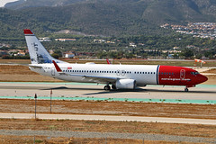 LN-NII Boeing 737-8JP Norwegian Air Shuttle Ellehammer-Danish inventor CS AGP 25-09-18 (PlanecrazyUK) Tags: lemg malaga–costadelsolairport malaga costadelsol lnnii boeing7378jp norwegianairshuttle ellehammerdanishinventorcs agp 250918