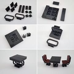 Table Instructions (Lilium Eco House MOC) (betweenbrickwalls) Tags: lego afol moc instructions tutorial legotechnique design furniture furnituredesign