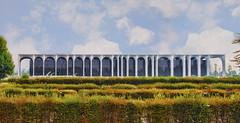 Mondadori (Fil.ippo) Tags: palazzo mondadori segrate milano architecture architettura filippobianchi filippo niemeyer headquarters sede milan d610 nikon sky cloud