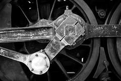 4-8-2 (Danny Shrode) Tags: bw monochrome blackandwhite steamtrain scotland museum glasgow