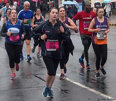 Birmingham Half-Marathon (2018) 28 (Row 17) Tags: uk gb england westmidlands greatbritain birmingham birminghamuk competitors runners candid portrait olympus streetscene citylife people women