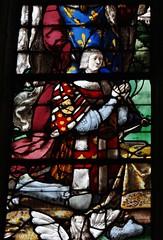1522 - 'Louis de Roncherolles (+1538) & Françoise d'Halluin (van Halewijn) (+ca. 1522-23), 'Vitrail de Roncherolles'' (Engrand Le Prince), Cathédrale Saint-Pierre, Beauvais, dép. Oise, France (roelipilami (Roel Renmans)) Tags: 1522 de roncherolles louis 1538 francoise dhalluin halewijn van 1523 halluin vitrail glasinloodraam glasmalerei stained glass fenster window raam venster engrand leprince le prince cathédrale kathedraal cathedral beauvais oise france french picardie picardy northern vitral armor armour armure harnas rüstung armadura renaissance surcoat surcotte wapenrok wappenrock waffenrock tabard king roi donors donateurs opdrachtgevers francois francis assisi christ crucifixion hubert christophe jesus cross christopher saint calvaire calvary spurs rowel