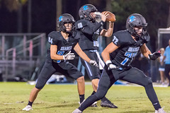 "PVHS v. Bolles '18-122 (mark.calvin33) Tags: football field sport ball ""high school"" ""ponte vedra high pvhs block tackle rush run pass catch receiver blocker ""running back"" quarterback fumble completion reception hike pitch snap ""friday night lights"" fans stands kick ""end zone"" ""nikon d7100"" 2018 win athletics athletes ""night photography"" ""sharks football"""
